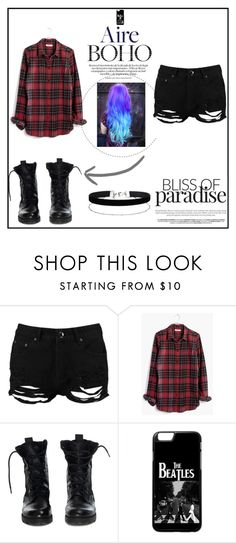 """""""emo love"""" by hemmingsskay on Polyvore featuring Boohoo, Madewell, Theyskens' Theory and Miss Selfridge"""