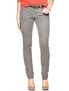 Love the grey color....1969 always skinny cords | Gap