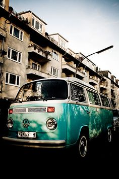 Call me crazy but I would so give anything to own one of these bad boys. Turbo charge it and paint it like the mystery machine :)