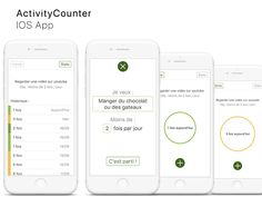 Activity Counter - IOS app project