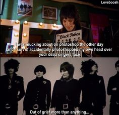 The Mighty Boosh - The Black Tubes (The Horrors)<—I LOVE The Horrors! The one on the far left is actually the singer XD Mighty Mighty, The Mighty Boosh, British Humor, British Comedy, Julian Barratt, Great Comedies, Noel Fielding, Through Time And Space, Mind The Gap