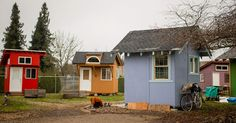 cool Non-profit is building a community of tiny homes so homeless veterans have a place to live