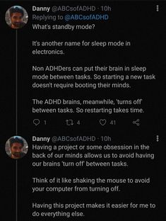 Adhd And Autism, Add Adhd, Adhd Facts, Adhd Brain, Mental Disorders, Mental Illness, Tumblr Funny, Thought Provoking, Memes