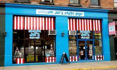 Welcome to Grandpa Joe's Candy Shop -