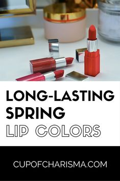 Long-Lasting Spring Lip Colors with Clinique Long-Lasting Lip Colors That Are Trending This Season. From red lipstick to pink lipstick you'll find a color you'll love. Best Lipsticks, Pink Lipsticks, Lipstick Tricks, Plum Lipstick, Beauty Hacks Lips, Beauty Tips, Beauty Products, Lip Gloss Colors, Lipsense Lip Colors