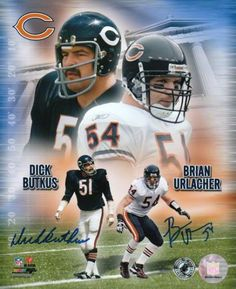 Butkus & Urlacher!  Old School & New School!!!