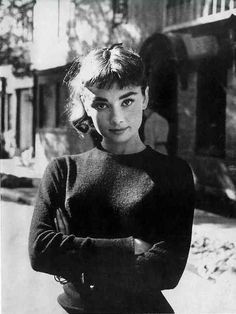 Audrey Hepburn photographed by Mark Shaw for Sabrina 1953
