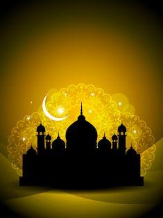Free religious architecture background 03 vector image in encapsulated postscript . Ramadan Greetings, Eid Mubarak Greetings, Ramadan Crafts, Ramadan Decorations, Islamic Wallpaper Hd, Eid Wallpaper, Ramadan Images, Ramadan Poster, Mubarak Ramadan
