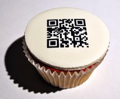 Send  a secret message on a cupcake - (or cookie?)