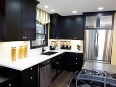 Best images black white kitchens ideas   best black kitchen cabinets ideas for your home decorations
