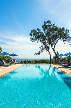 Belmond El Encanto is nestled in the hills of Santa Barbara, long dubbed the American Riviera. Santa Barbara Hotels, Santa Barbara County, California Dreamin', Hotels And Resorts, Dream Vacations, Travel Around The World, Trip Advisor, Beautiful Places, Places To Visit