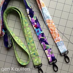 Quick Teacher Gift - Lanyard Tutorial || Gen X Quilter's