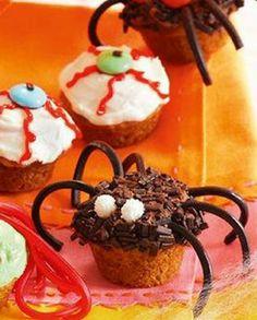 herzhafte halloween happen und masken rezept hallowin rezepte pinterest pikante muffins. Black Bedroom Furniture Sets. Home Design Ideas