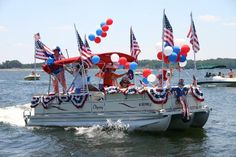 pontoon party decorations for 4th | Lake House | Pinterest ...