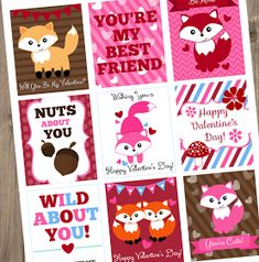 If you're last minuet on purchasing Valentine's Day cards or would just like some quick, free printable cards, I tota...