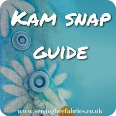 Find out what are KAM snaps and how do you use KAM snaps and their pliers with this free sewing tutorial. Also featuring lots of tips and trouble shooting ideas