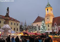 The Old Town Hall in Bratislava, Slovakia! See more: http://www.gypsynester.com/bratislava.htm #travel #europe
