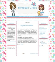 Cantinho do blog Layouts e Templates para Blogger: TEMPLATE FREE