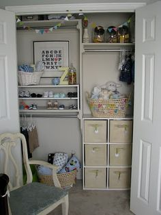 what a great closet system!