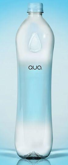 Las botellas de Qua se entregarán en la alfombra roja very pretty water bottle #packaging PD
