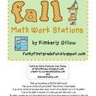 This product includes six different math work station games with a fall or Halloween theme.  The games are designed to be used in math centers, wor...