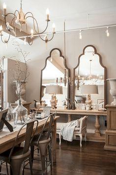 83 amazing modern farmhouse dining room decor ideas