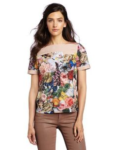 Ted Baker Women's Bara Shirt Ted Baker. $146.20. Boxy shape blouse. Machine Wash. Made in China. polyester. Digital print