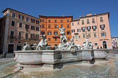 Neptune's Fountain, Piazza Navona, Rome