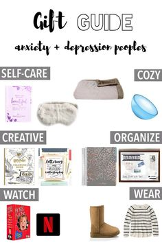 Gift Guide – Anxiety