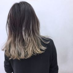 Hair 2018 Color Asian Ideas For 2019 Violet Black Hair, Brown Ombre Hair, Grey Ombre, Hair Color Asian, Vivid Hair Color, Long Crochet Hair, Cotton Candy Hair, Natural Hair Styles, Short Hair Styles