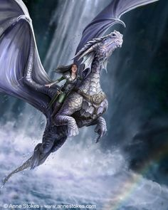 artsfantasia: Take to the Air by Anne Stokes ~...