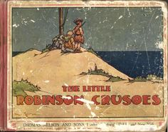 The Little Robinson Crusoes, illustrated by Harry Rountree