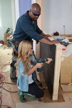 See how @Alison Hobbs Victoria and Chris Grundy clad the Blog Cabin 2013 kitchen island and get the look in your home  http://www.diynetwork.com/blog-cabin/how-to-clad-a-kitchen-island/pictures/index.html?soc=bc