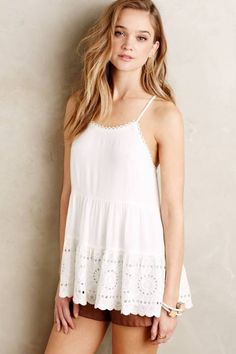 Terraced Lace Cami by Harlyn