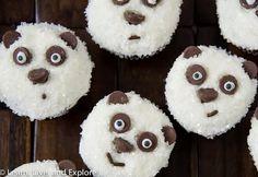 Easy Panda Bear Cupcakes