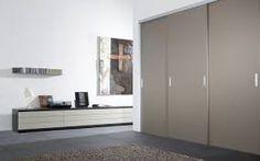 Výsledek obrázku pro moderní vestavěná skříň Made To Measure Wardrobes, Interior Architecture, Interior Design, Affordable Furniture, Sliding Doors, Bad, Tall Cabinet Storage, House, Home Decor