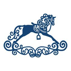 Product – Rocking Horse (D219)   Tattered Lace