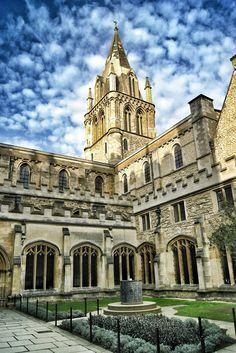 Christ Church, Oxford University-England  By T o n y C I D