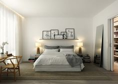 . simple bedroom