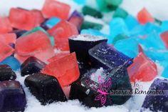 орнамент из льда, игры с цветным льдом, игры для детей на свежем воздухе зимой
