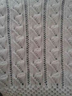 Bech Five - Knitting Examples Knitting Stiches, Knitting Videos, Crochet Stitches Patterns, Crochet Videos, Lace Knitting, Knitting Patterns Free, Free Pattern, Knit Crochet, Knitting Needles