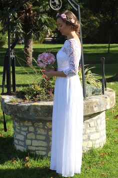 Black Vneck Party Gown 3 Everpretty