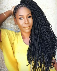 These are not Faux locs! Dreadlock Styles, Dreads Styles, Black Girl Braids, Girls Braids, Dreadlock Hairstyles, Braided Hairstyles, Beautiful Dreadlocks, Coily Hair, Love Hair
