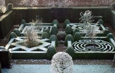 Piet Blanckaert, Landscape Architect - References, Belgium - love these knot gardens.