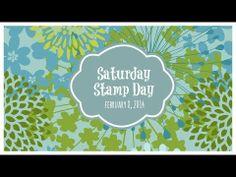 Saturday Stamp Day - Sending lots of love