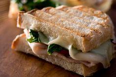 These 12 Panini Sandwiches Are Perfect for Your Next Party Panini Sandwiches, Delicious Sandwiches, Wrap Sandwiches, Chicken Panini, Ideas Sándwich, Caviar D'aubergine, Culinary Classes, Culinary Arts, Panini Recipes