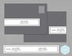 Wrap Around Mailing Address Label