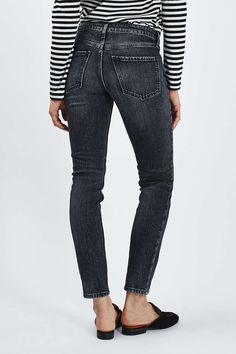 MOTO Washed Black Baxter Jeans - New In This Week - New In - Topshop