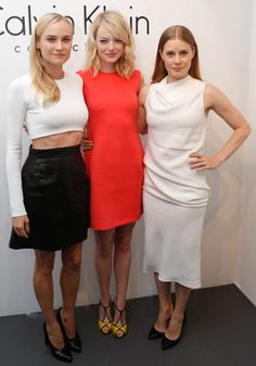 Emma Stone in Roger Vivier (with bonus Diane Kruger and Amy Adams)