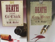 Author G. Malliet Two Book Bundle of the A St. Just Mystery Series Collection, Includes: Death and the Lit Chick and Death of a Cozy Writer Resale Store, Mystery Series, Hard To Find, Textbook, Writer, Household, Death, Author, Electronics